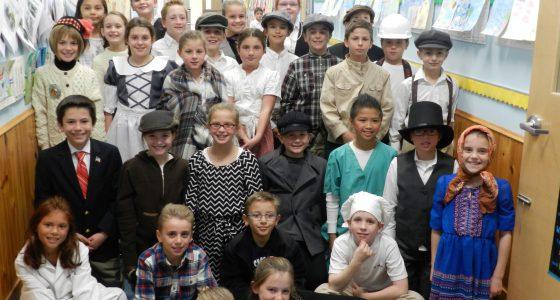 4th Grade Family Pilgrim Day