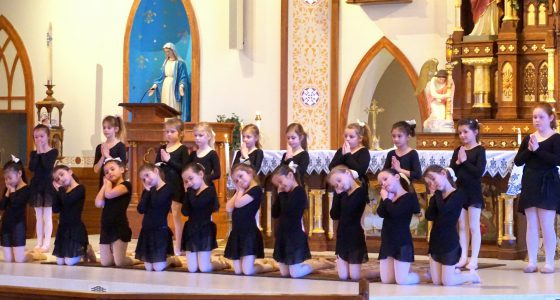 1st Grade Liturgical Dancers