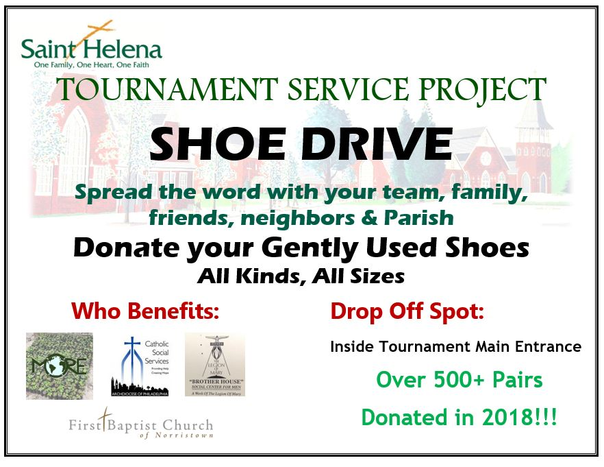 Tournament Shoe Drive