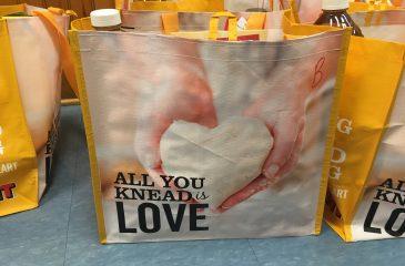 Thanksgiving food donation bag