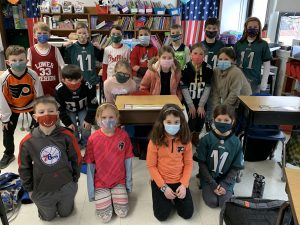 Catholic Schools Week - Jersey Day!